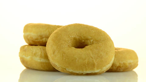 Donuts turning Stock Video Footage