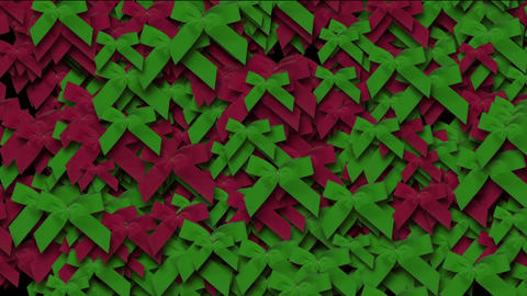 red & green bow-knot background,chrismas & holiday decoration Animation