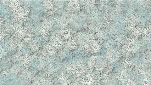 snowflake as chrismas background Stock Video Footage