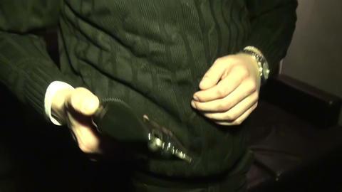 Stun gun Stock Video Footage