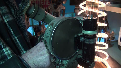 Old movie camera Stock Video Footage