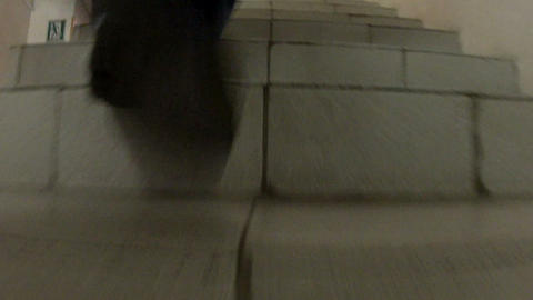 Steps of the stairs Stock Video Footage