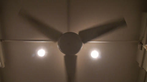 Huge Fan stock footage