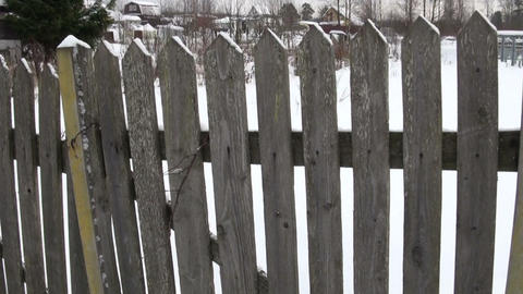 The old fence Footage