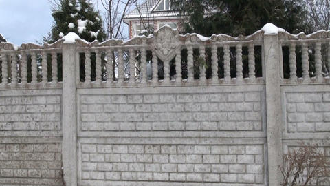 Stone fence Footage