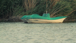 Pedalo boats Stock Video Footage