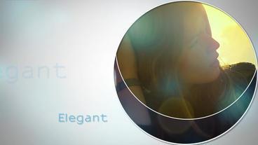 Elegant Slideshow v2 After Effects Project