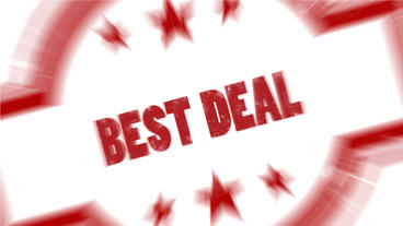 Best Deal Shopping stamp or mark design element After Effects Project