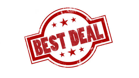 Best Deal Shopping stamp or mark design element After Effects Template