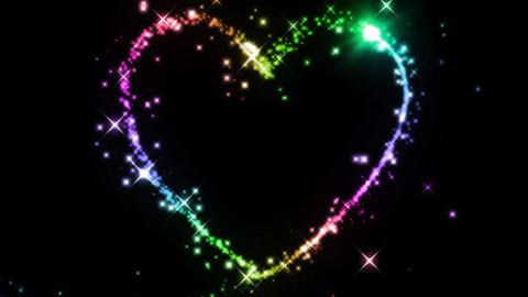 heart CG wedding CG動画
