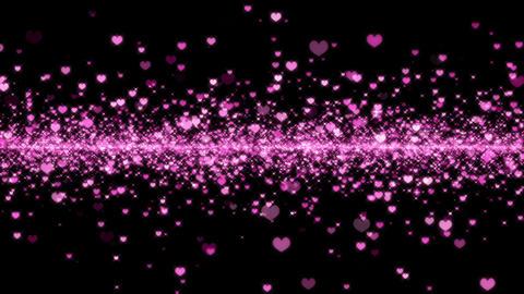 Pink Heart Wedding 1