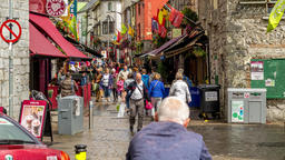 A zooming time-lapse of the world famous Quay street in Galway city, This amazin Footage