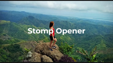Stomp Opener/Intro After Effects Template