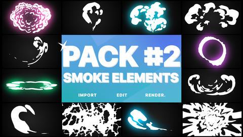 Smoke Elements Pack 02 Premiere Pro Template