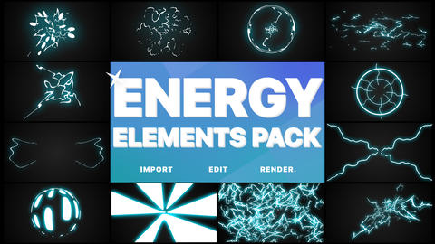 Energy Elements Pack Premiere Pro Template