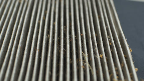 Used Dirty Car Air Filter Live Action