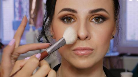 Client in beauty salon Live Action