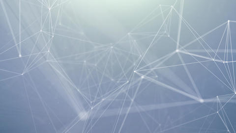 Abstract triangle pattern polygonal network Technology Science Footage