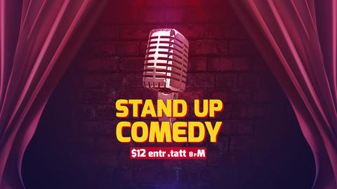 Stand Up Comedy After Effects Template