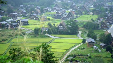 Sightseeing gifu shirakawagou V1-0011 Footage