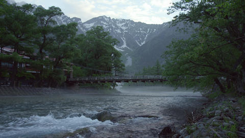 Sightseeing nagano kamikouchi V1-0073 Footage