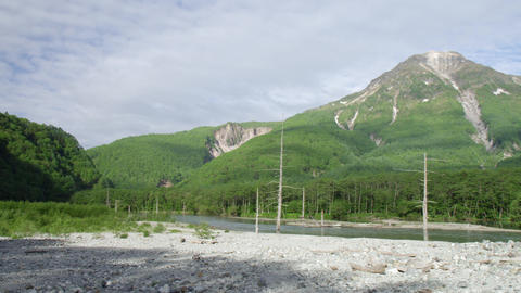 Sightseeing nagano kamikouchi V1-0092 Footage