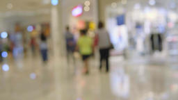 Abstract Background Of Shopping Mall, Shallow Depth Of Focus Live影片