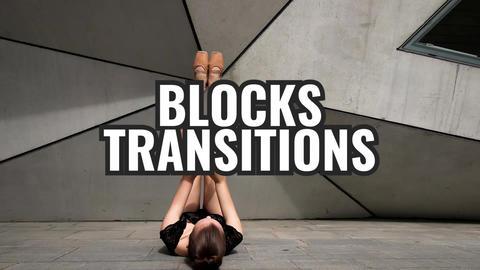 Blocks Transitions Premiere Pro Template