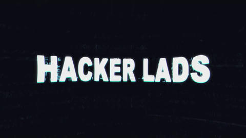 Hacker Lads Title Reveal After Effectsテンプレート