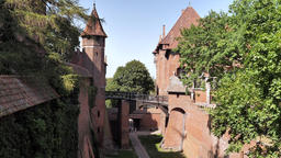 Castle of the Teutonic Order in Malbork - moat Live Action