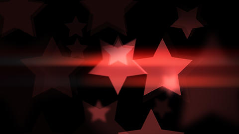 Stars smooth Glowing and glittering Animation
