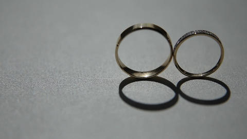 Two wedding rings Live Action