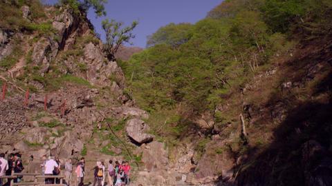 Spa nagano jigokudani V1-0091 Footage