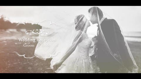 Wedding opening movie template After Effectsテンプレート