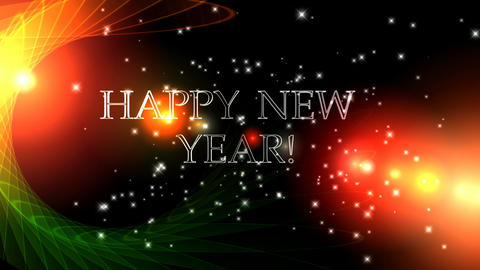11 Animated Greetings HAPPY NEW YEAR Animation