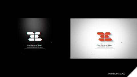 Simple Logo Opener After Effects Template