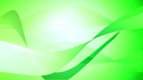 Smooth wavy motion background in green color Animation