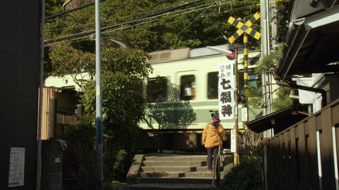 Train enoshima V1-0026 Footage