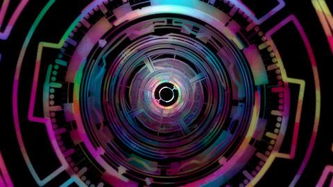 Circles 02 VJ loop CG動画