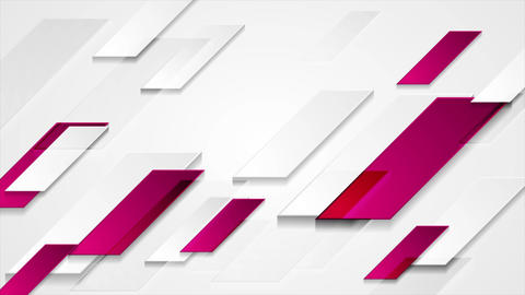 Bright purple grey abstract geometric tech video animation Animation