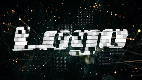 Digital Glitch Logo Reveal After Effects Template