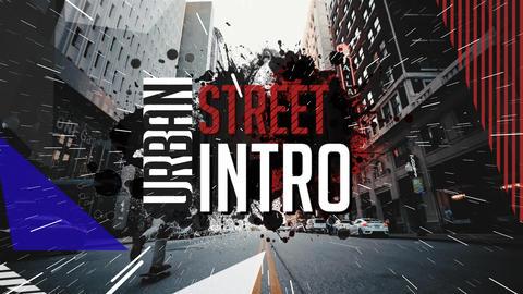 Urban Street intro Premiere Pro Template