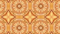 Dynamic Flowers Kaleidoscope Design Animation