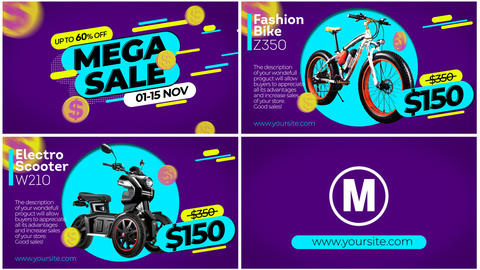 MEGA SALE After Effects Template