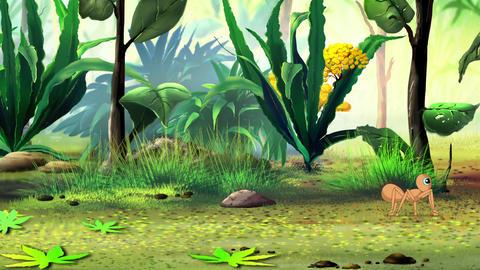 Running ant Animation