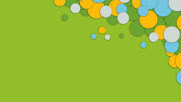 Colorful bubbles or eclipse animation for titling or presentation After Effects Project