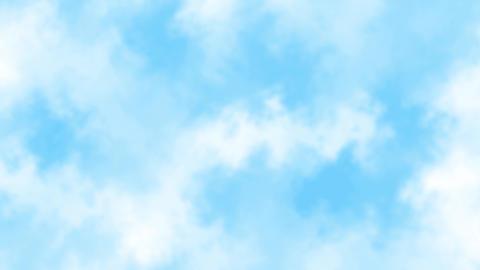 Mov139 cloud bluesky loop bg 03 CG動画