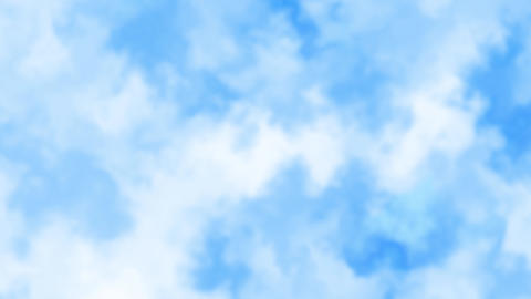 Mov139 cloud bluesky loop bg 08 CG動画