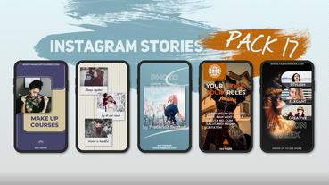 Instagram Stories Pack 17 After Effects Template
