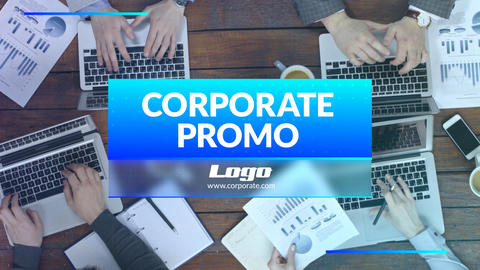 Corporate Promo Business Slideshow Premiere Pro Template